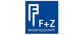 BAVcompact - betriebliche Altersvorsorge mit System - bAV für den Bau - Referenzlogo F+Z Baugesellschaft