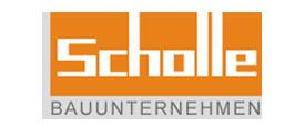 BAVcompact - betriebliche Altersvorsorge mit System - bAV für den Bau - Referenzlogo Scholle Bauunternehmen